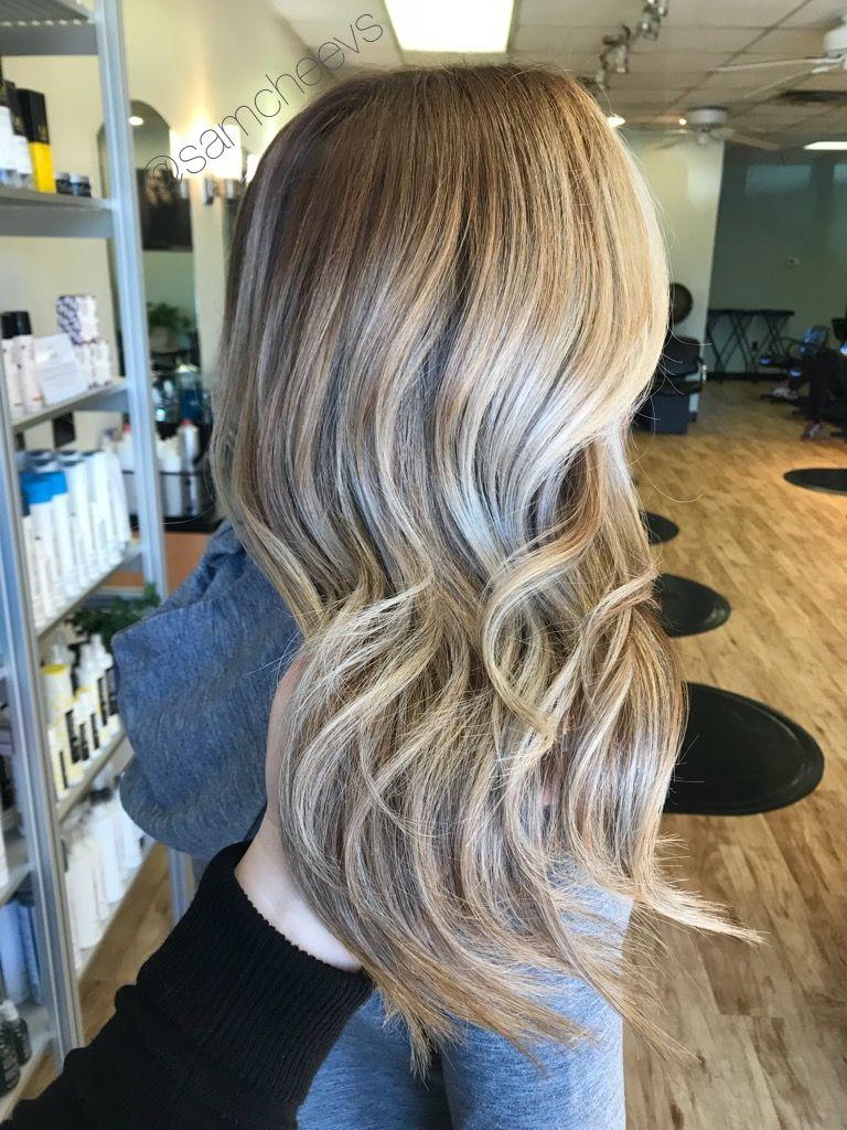 Shadow Root Light Caramel Brown To Platinum Sandy Pale Natural Blonde Hair Light Blonde Hair Hair Shadow Roots Hair