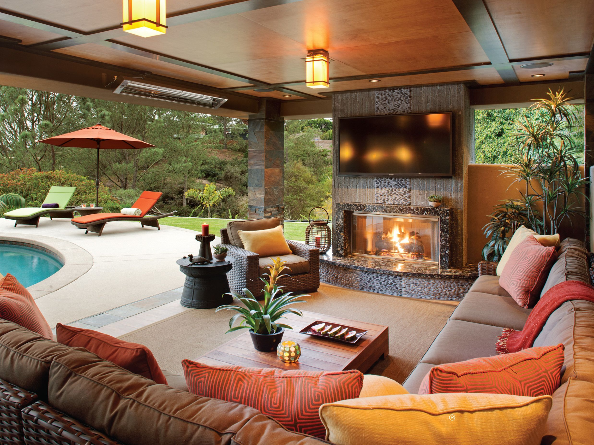 10 Fantastic Out Door Living Room Designs And Decoration ... on My Backyard Living id=56011