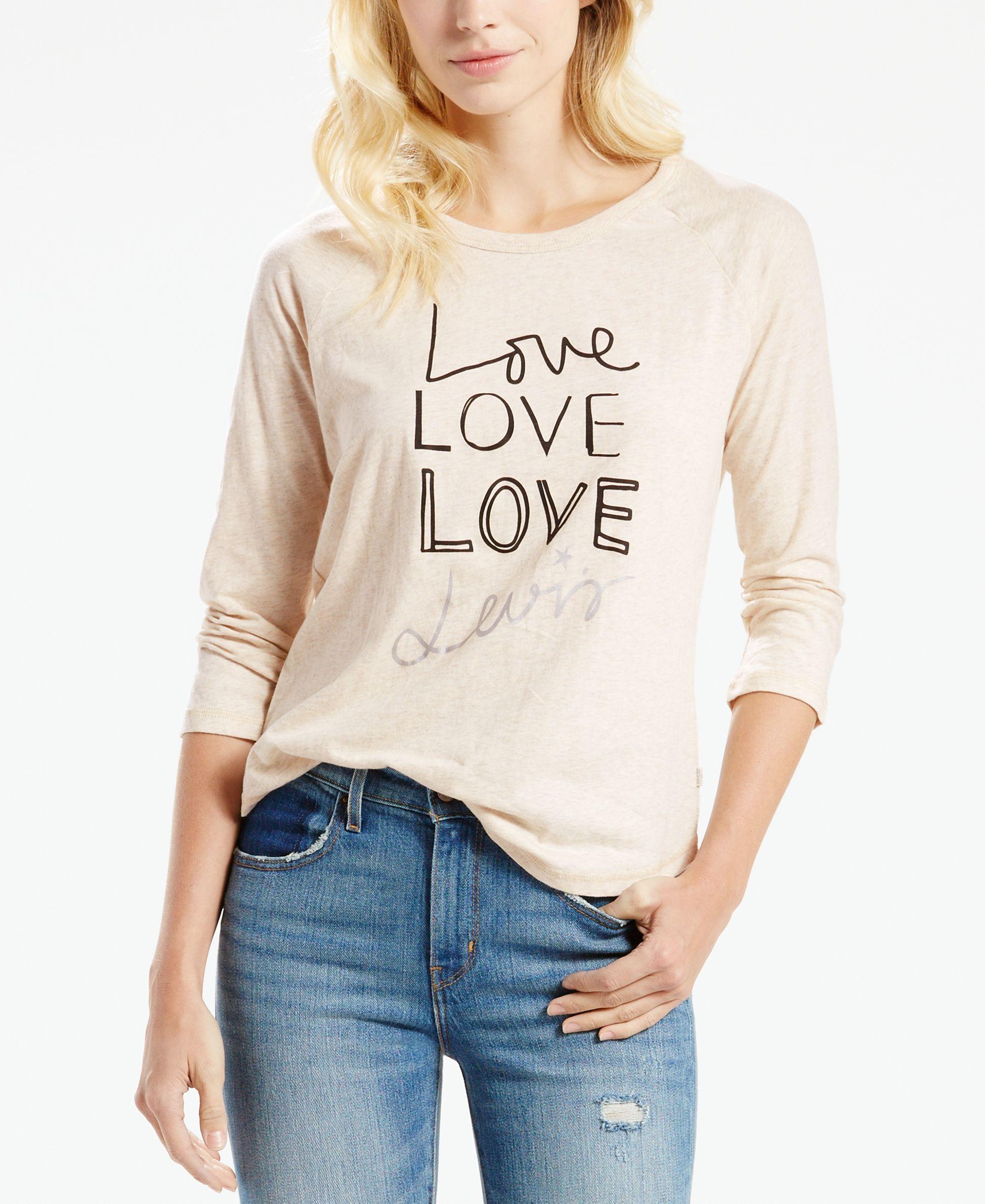 Levi's Love Graphic Top