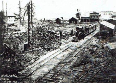 Nahcotta, c.1889.