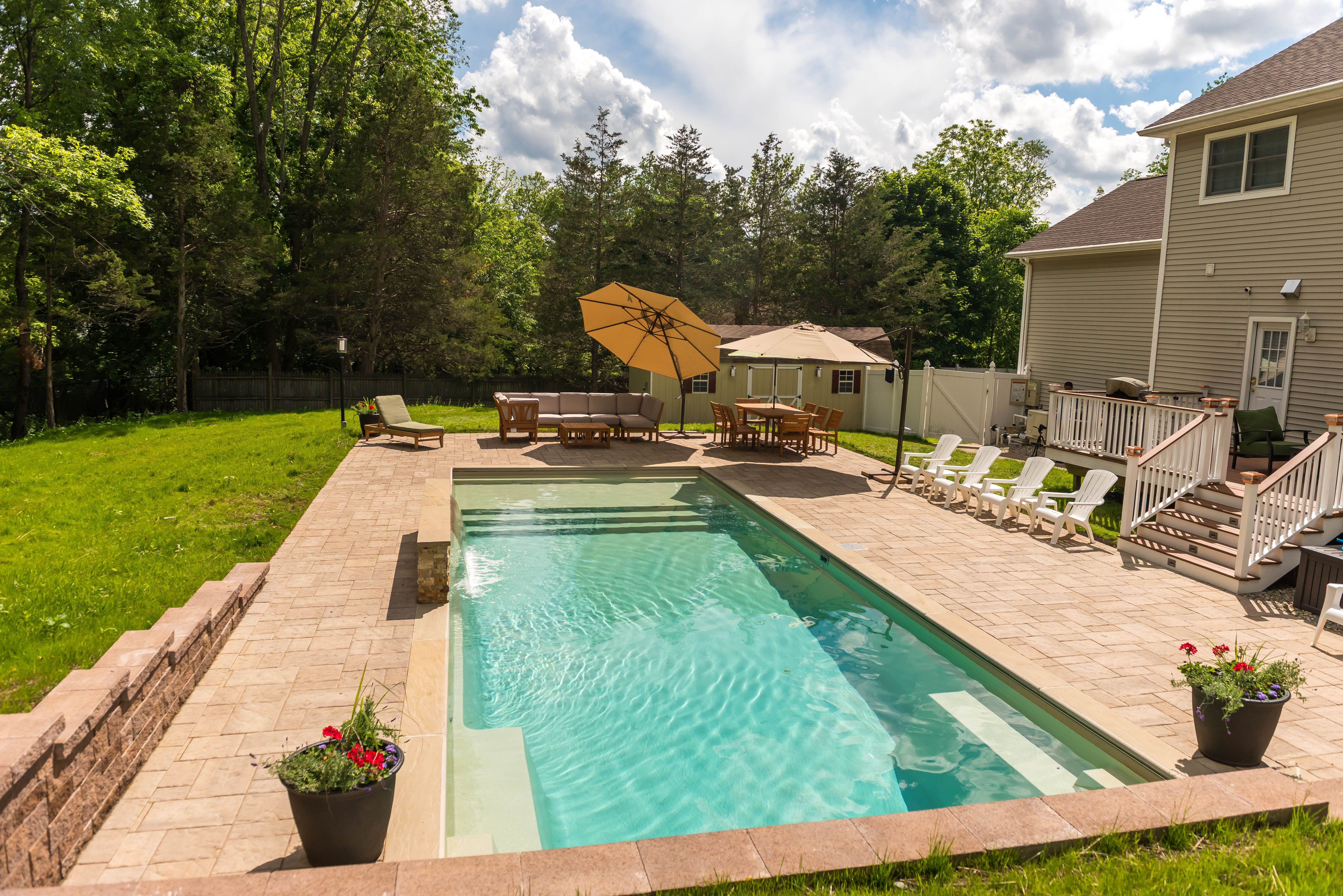 Leisure Pools The Pinnacle Backyard Vacation Leisure Pools Pool Designs