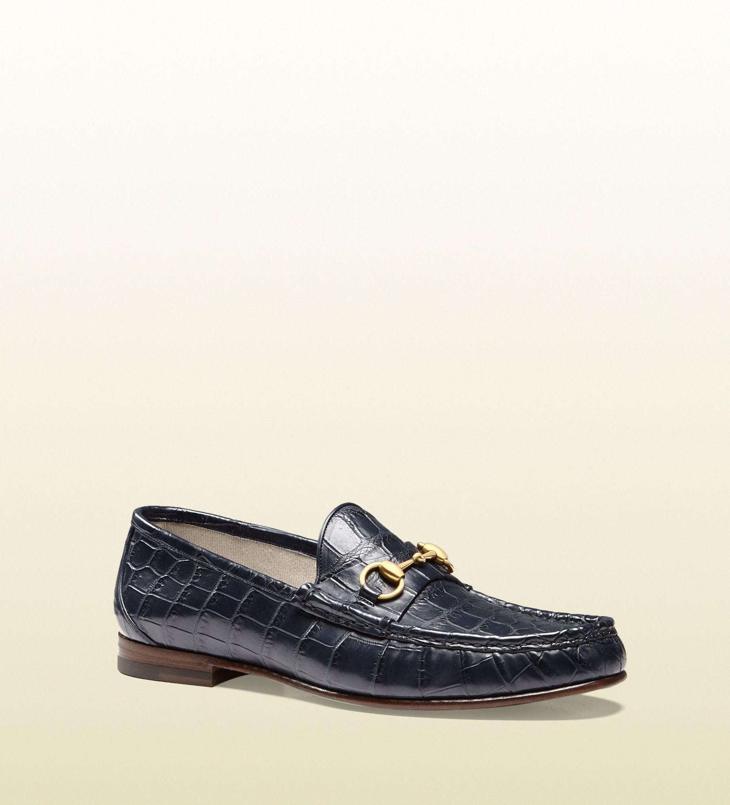 cd2d2688a99 1953 horsebit crocodile loafer