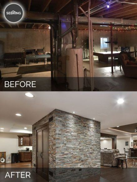 33 Trendy Basement Bathroom Ideas: 33 Trendy Basement Remodel Before And After Renovation