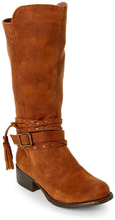 09db7dd37a2 Steve Madden Kids Girls) Tan J-Braylin Riding Boots | Miko's | Boots ...