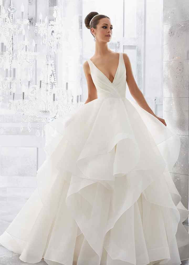 Wedding Dress out of Morilee by Madeline Gardner  - 5577