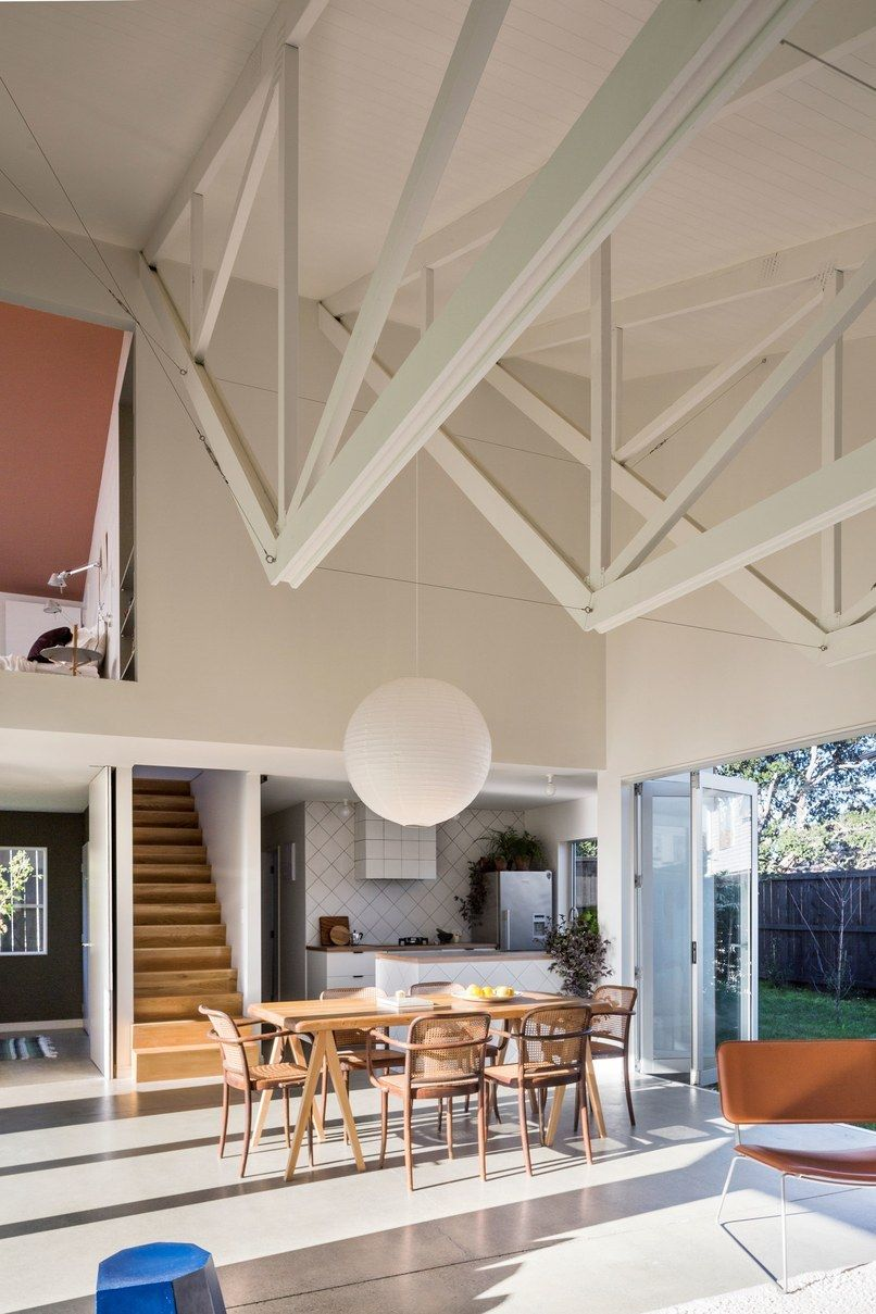 Home Interior Design Sunny Kitchen In Auckland New Zealand 852 X New Zealand Houses Home House