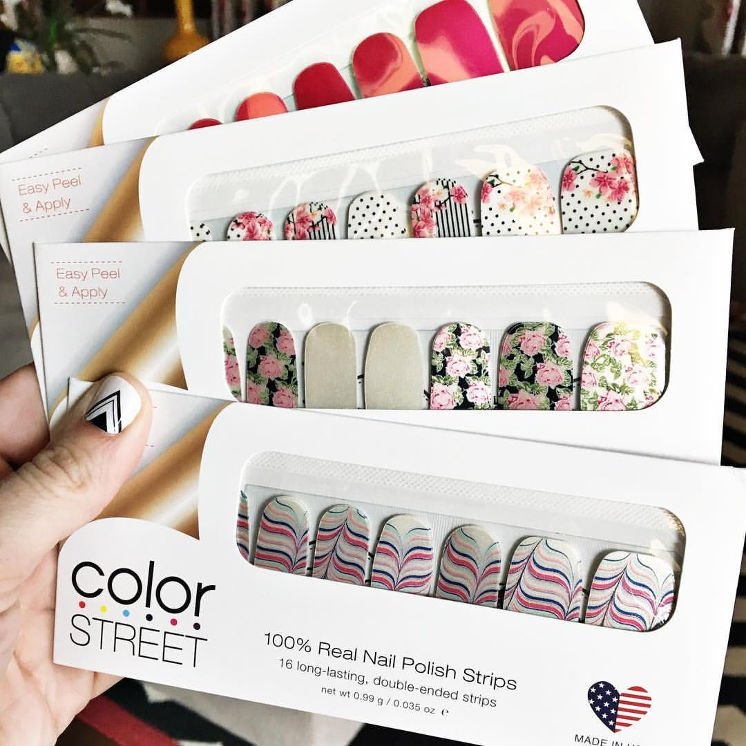 Color Street has so many fun designs. Nail art made easy.   Color ...