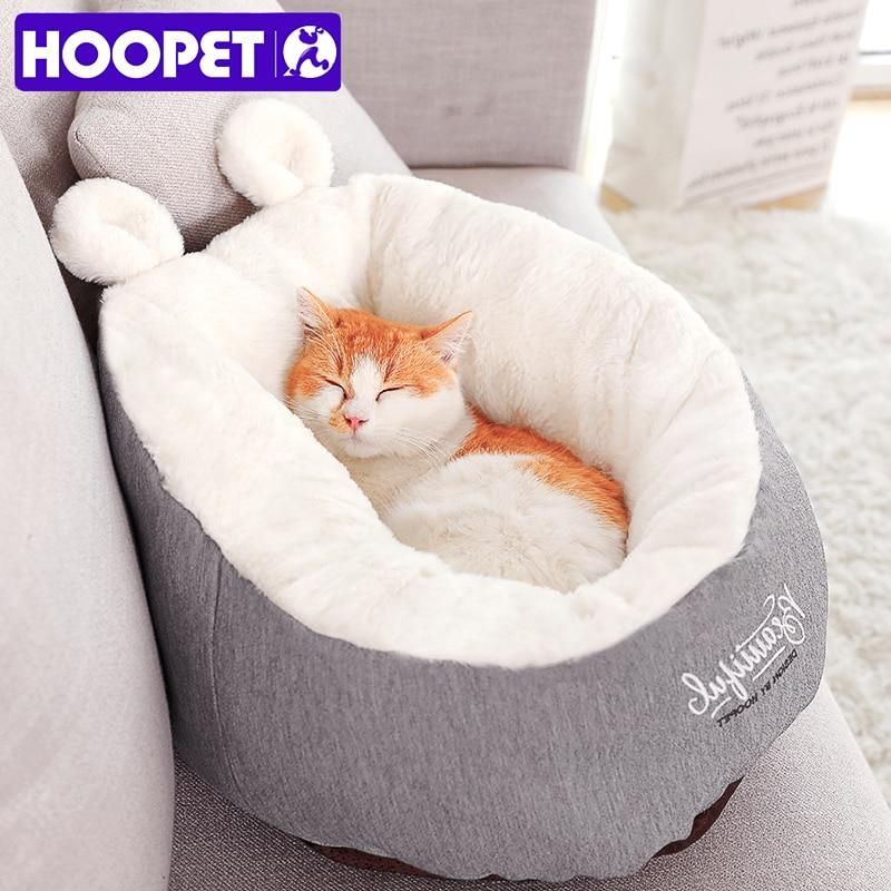 Large Round Self Warming Bed For Dogs Cats Washable Thermal Pet Sleeping Nest