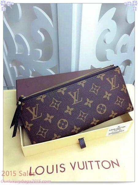 d008fda075e Louis Vuitton Monogram Canvas ADELE WALLET M61287 Black | Louis ...