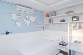sala parede azul claro - Pesquisa Google
