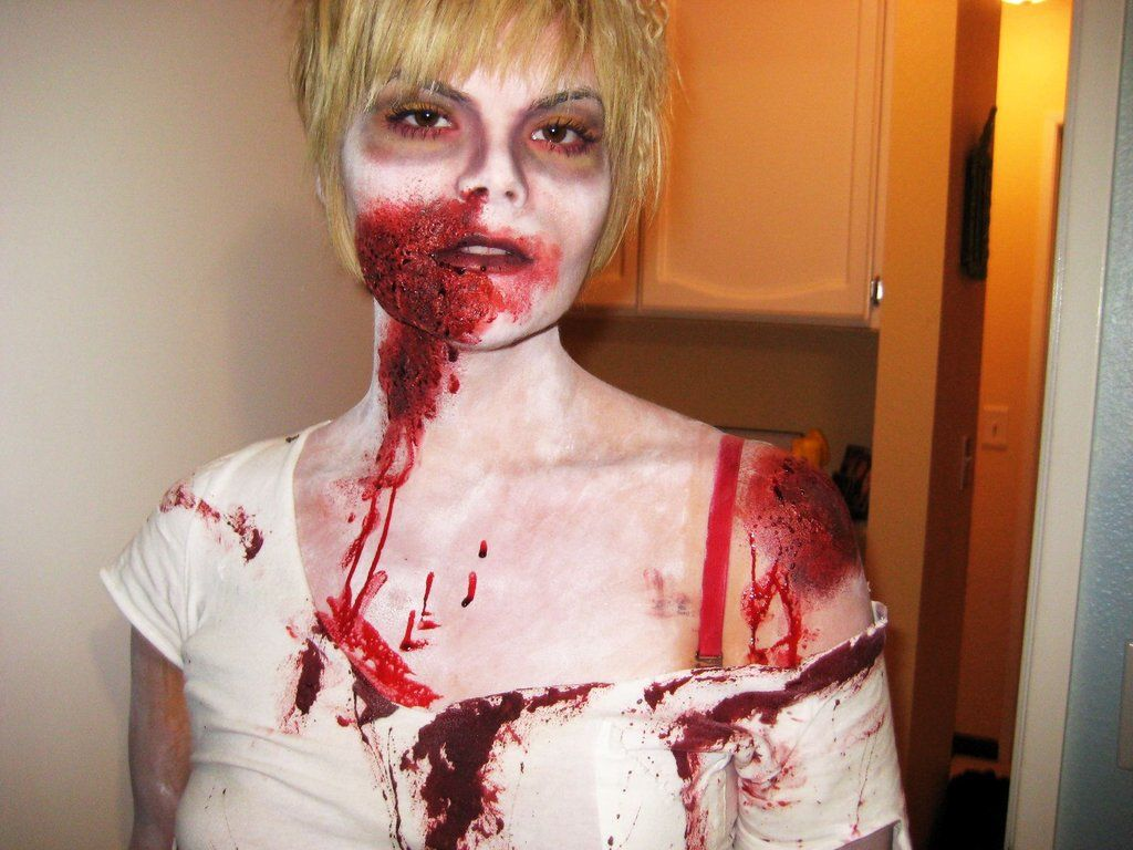 99 real girl halloween costumes that are terrifyingly gorgeous - Halloween Costume Ideas Makeup