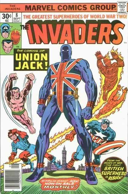 Invaders 8 - Jack Kirby