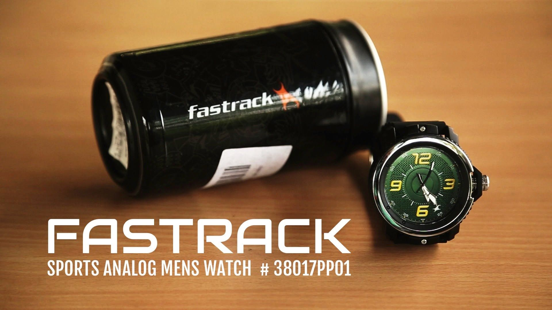 Fastrack Sports Analog Men's Watch 38017PP01 Unboxing