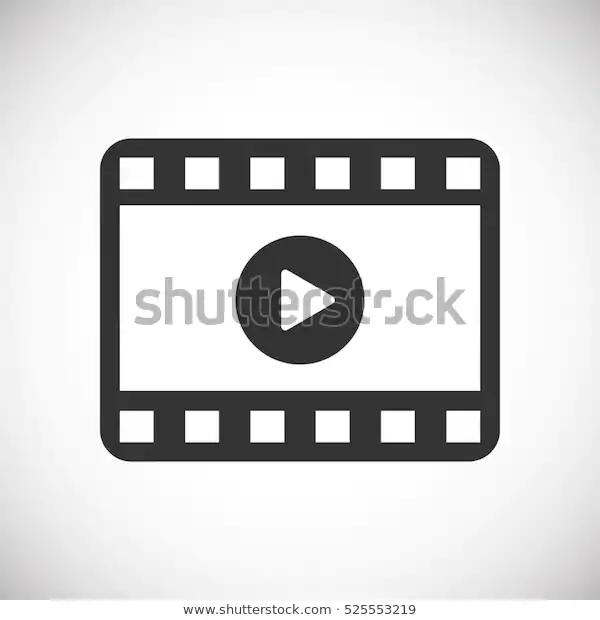 Play Video Vector Icon Stock Vector Royalty Free 525553219 Vector Icons Stock Vector Vector Images