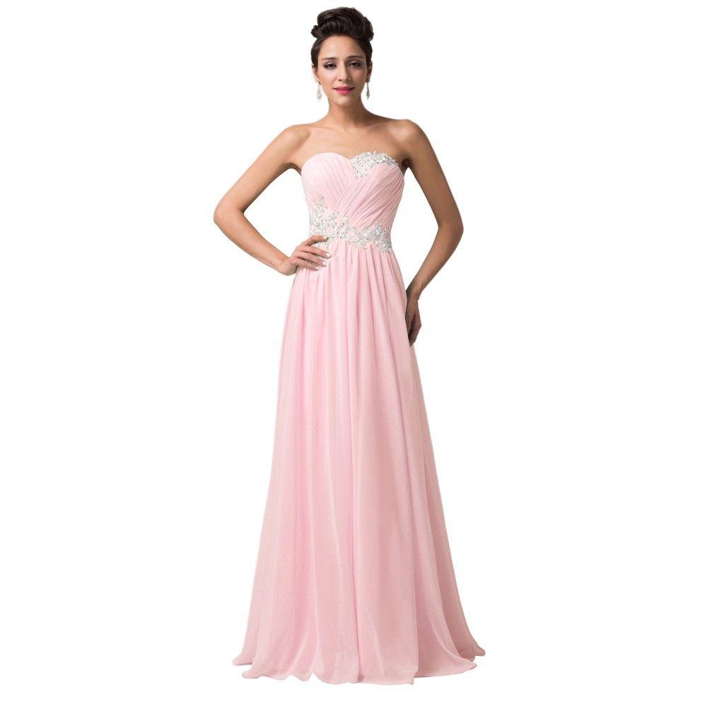 Robe de Soiree Evening dresses Long Chiffon Summer Evening Gowns ...