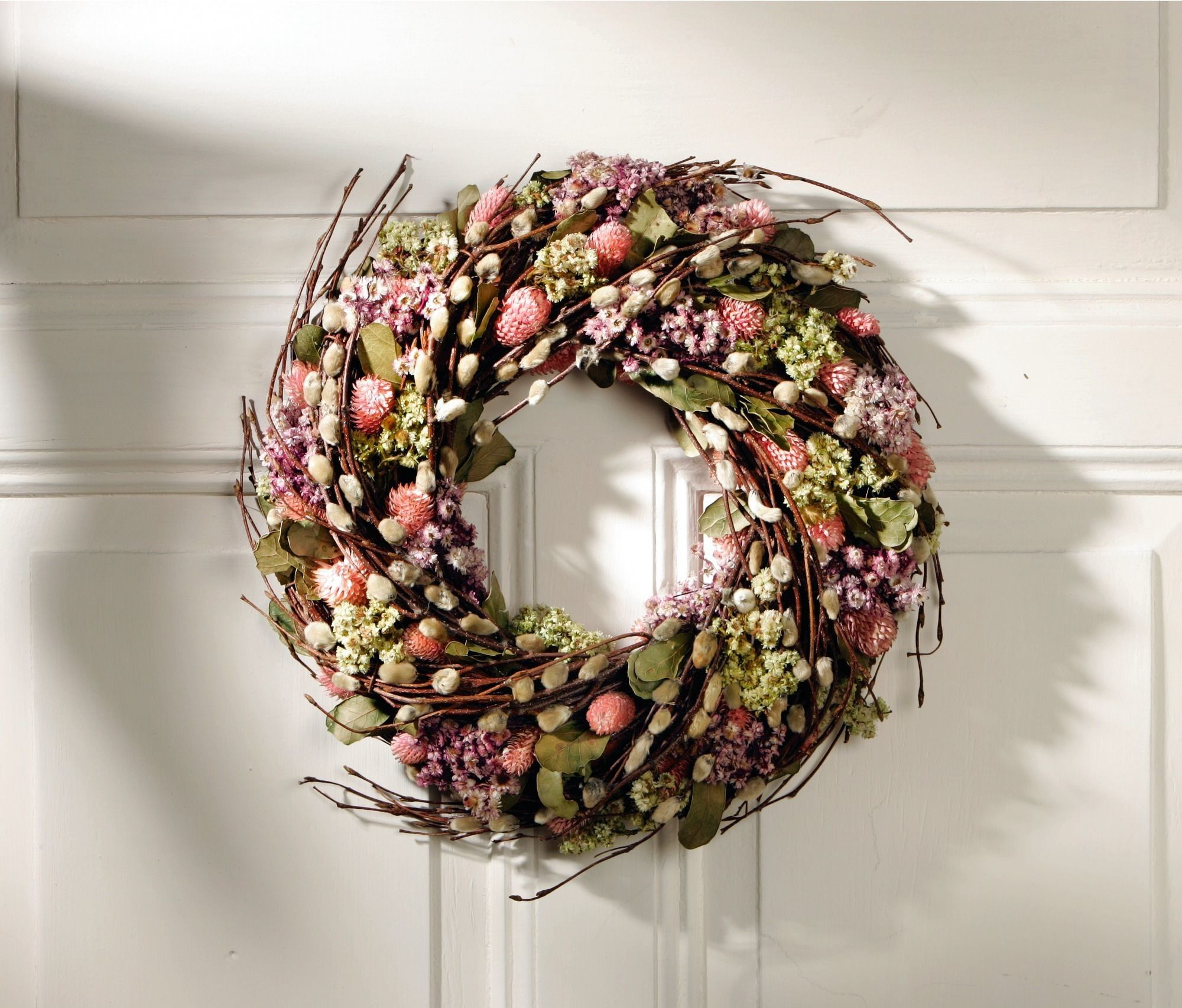 Bl tenkranz romantik kr nze deko deko ideen for Wohnung dekorieren ostern
