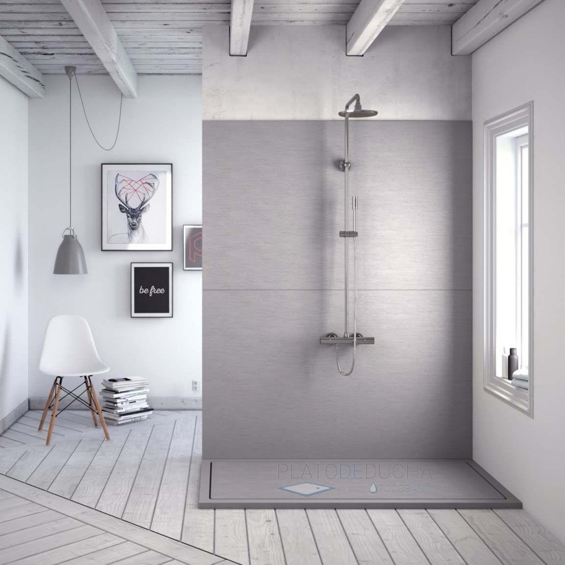 Plato de ducha de resina infinity con un dise o - Disenos de duchas ...