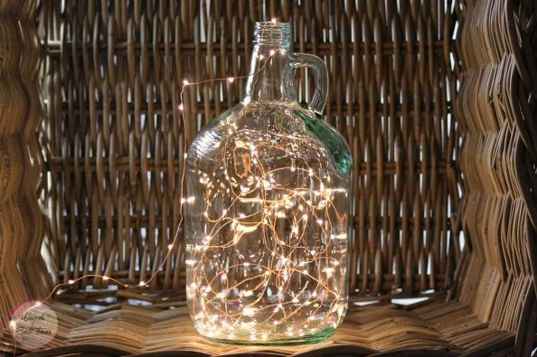 How To Make A Growler Fairy Lamp Diy Growler Decor Fairy Lamp