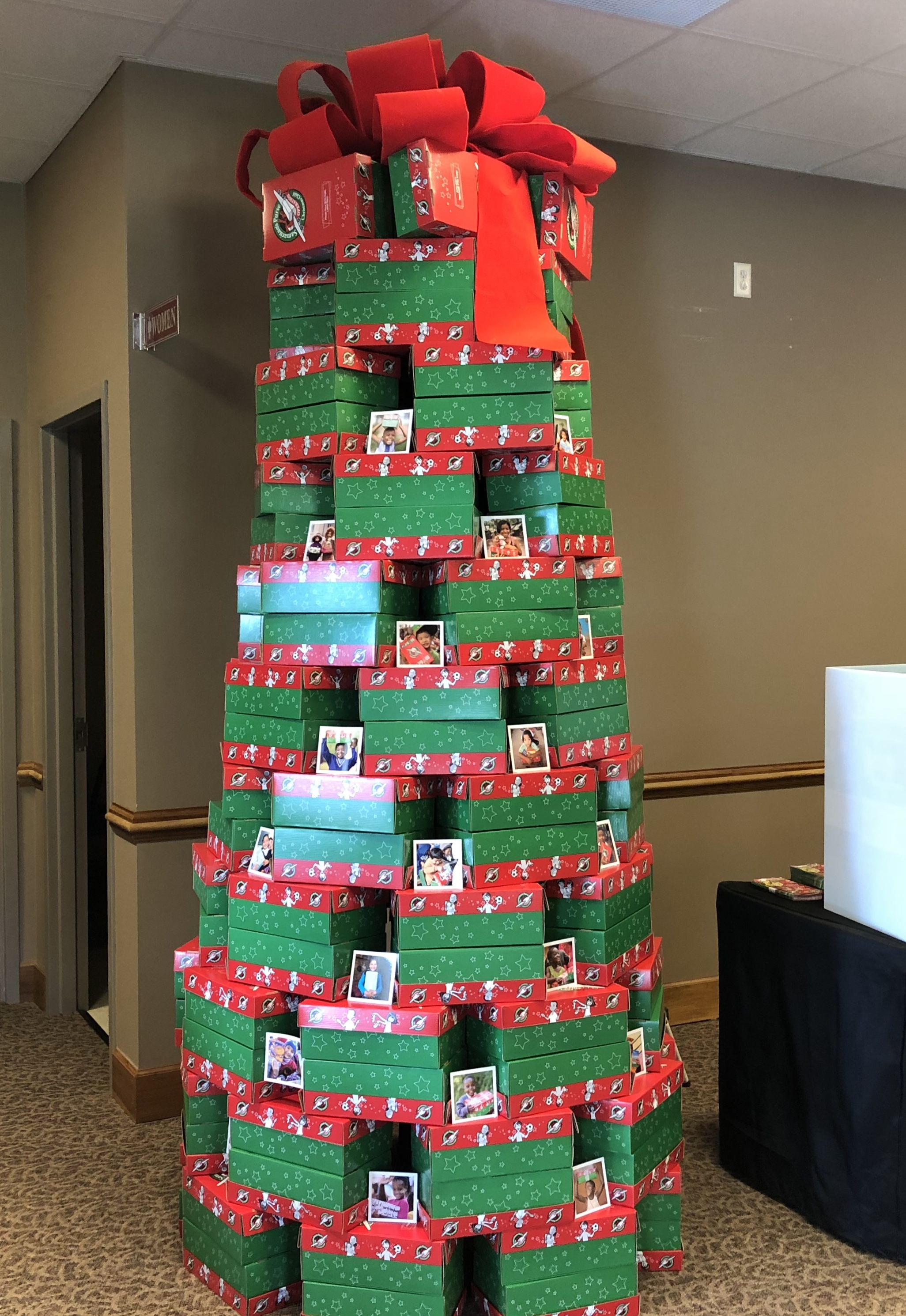 Operation Christmas Child Shoebox Display.Operation Christmas Child Operation Christmas Child Boxes