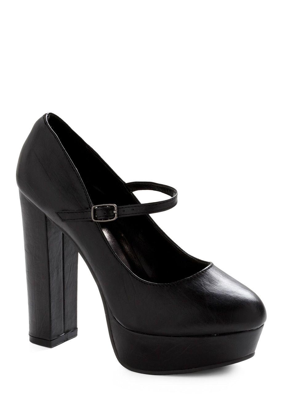 gorgeous basic black heel