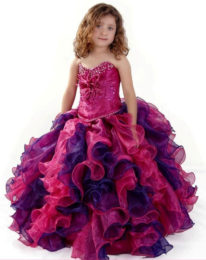 5b0401ce0 3 Anos Girls Dress with Ruffled Skirt and Beads by Sofia Collection ...