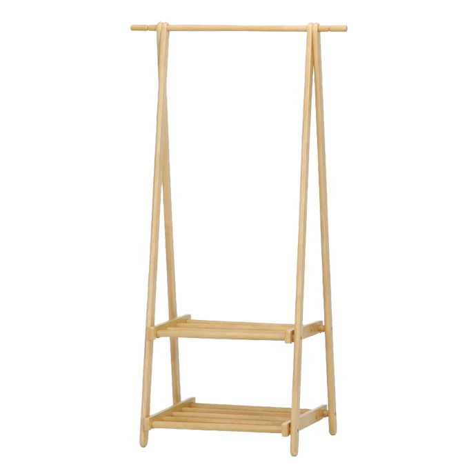 What Wooden Clothes Rack With Shelves Is Suitable To You Darbylanefurniture Com In 2020 Clothing Rack Wooden Clothes Rack Coat Hanger Stand