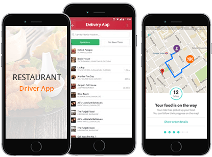 Deliver the food instantly with Food Delivery Apps Real