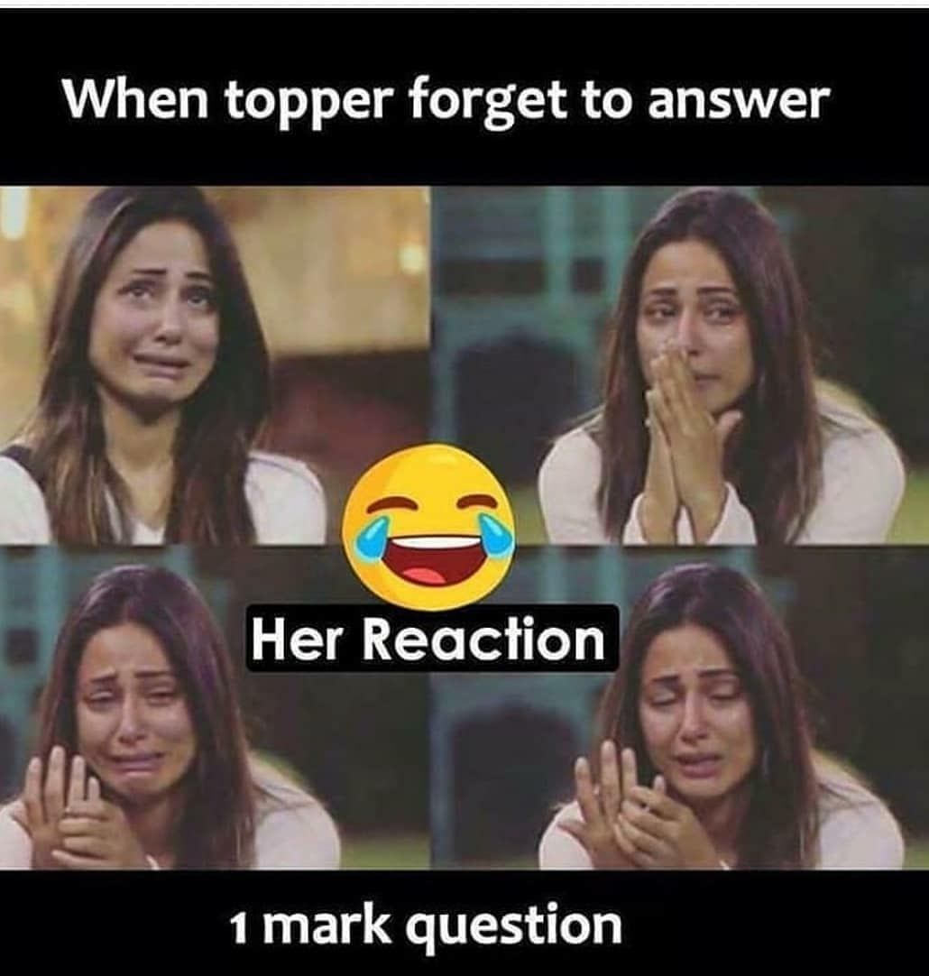 When Topper Forget To Answer Exam Quotes Funny Funny Joke Quote Funny School Jokes