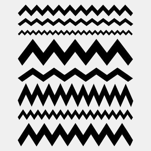 chevron pattern template