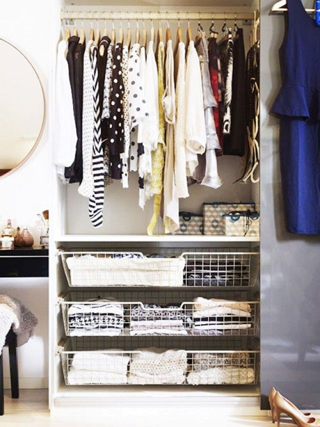 11 Closet Organization Ideas From Pinterest Organizadores, Sitios