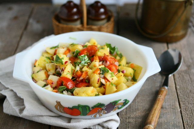 pineapple apple salsa