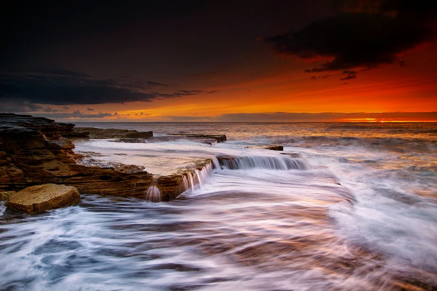 "500px / Photo ""Ocean's Fury"" by Noval Nugraha"
