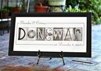 Personalized Name Frame Print