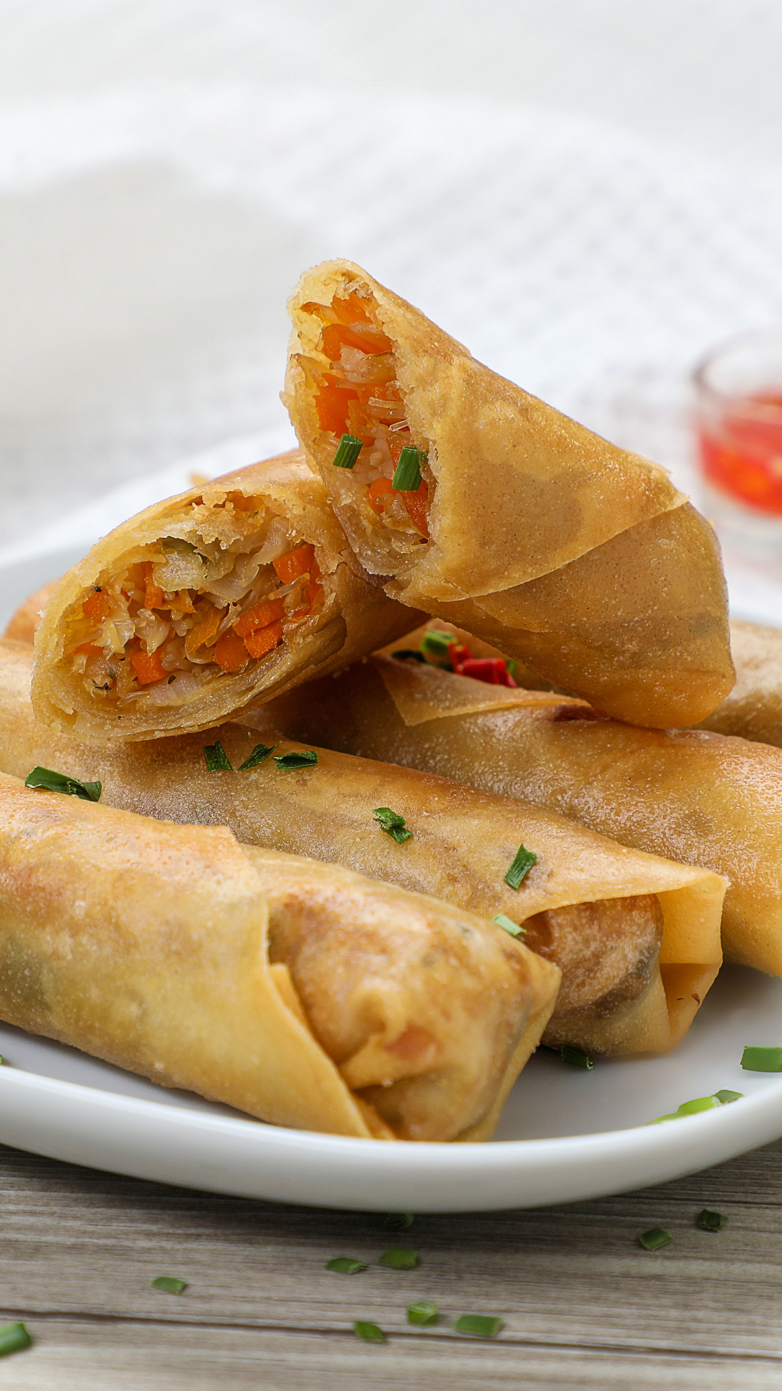 Vegetable Spring Roll سبرينغ رول بالخضار In 2020 Cooking Recipes Recipes Cooking