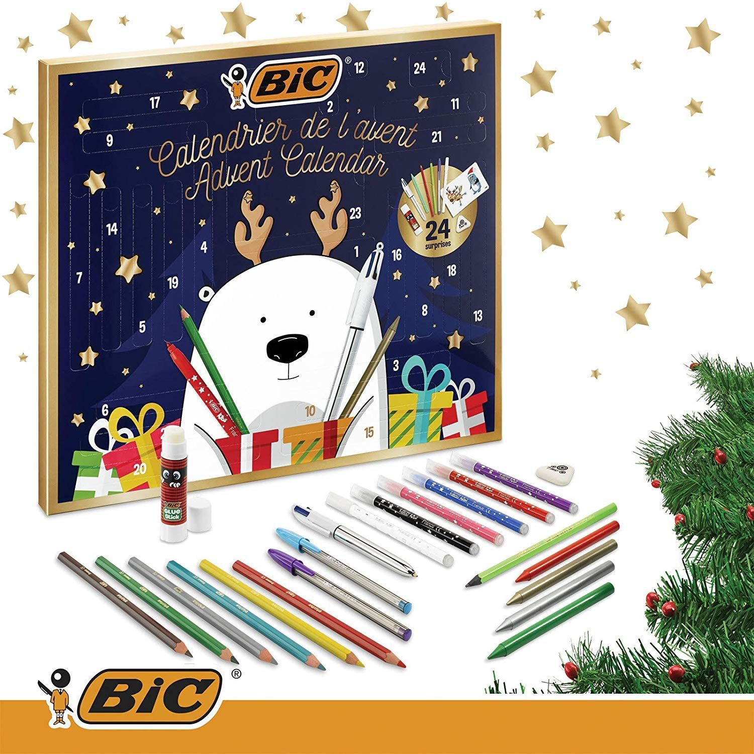 BIC Advent Calendar This is the perfect gift for someone