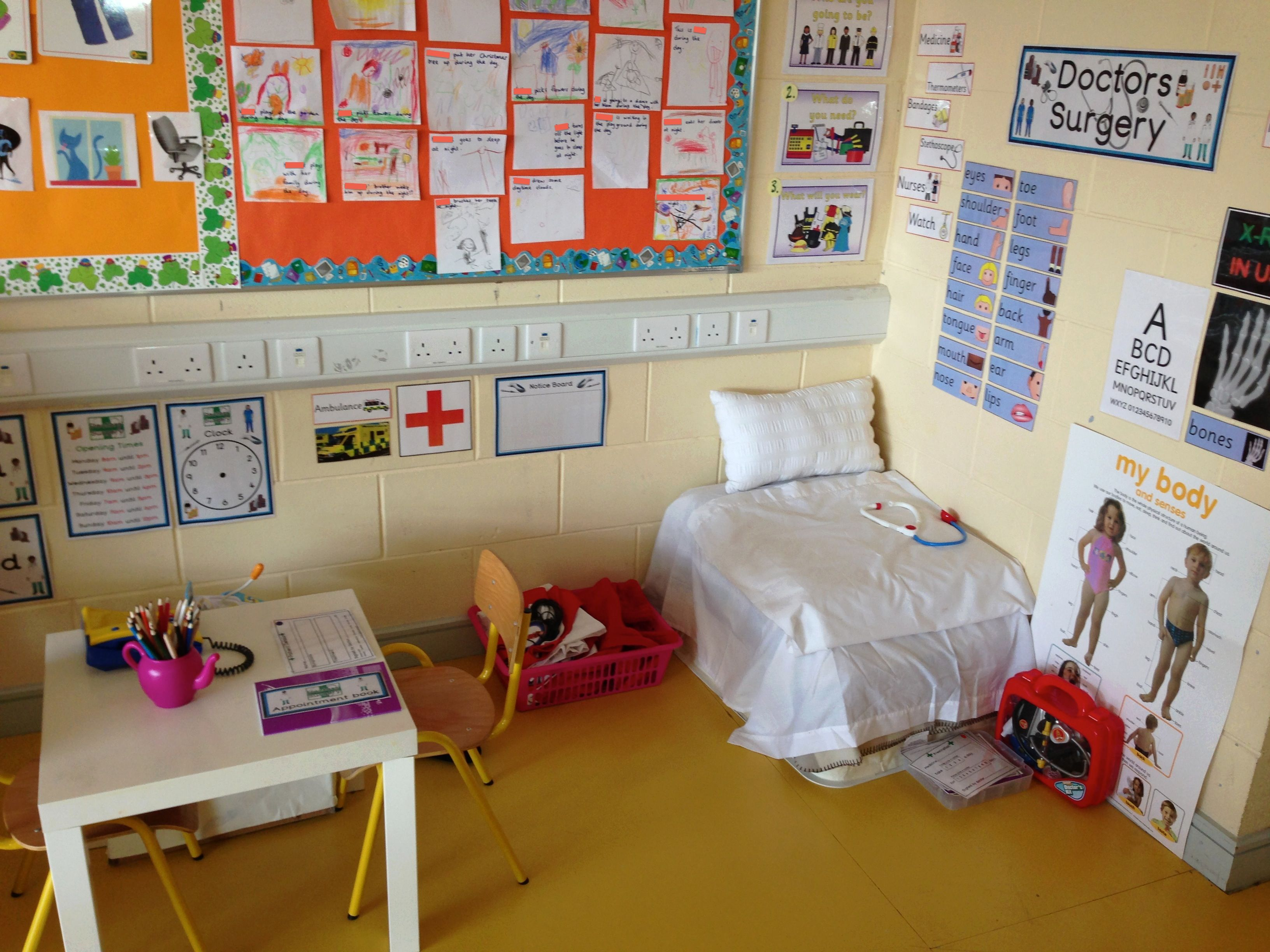 Doctor S Surgery Role Play Area Dramatic Corner