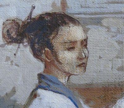 Demeures Peintes: Chinoiseries I, panel detail