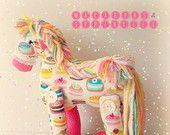 Pop Sugar Candy Pony Doll Toy :)