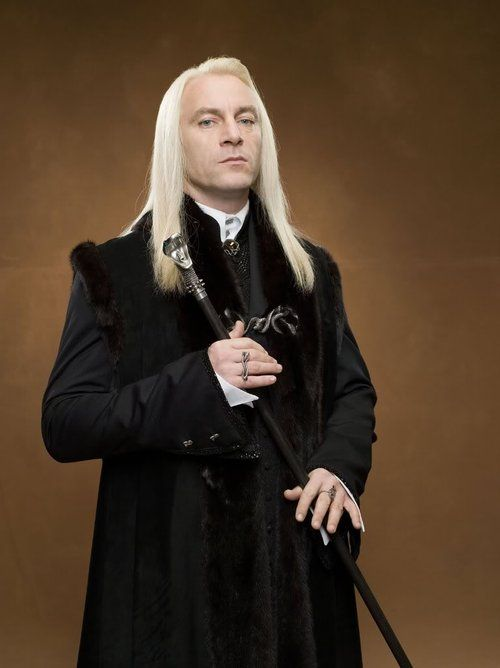Why be good when Lucius Malfoy makes bad look so good! (Jason Isaacs)