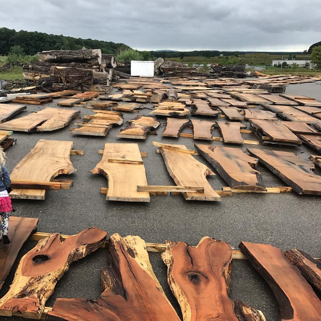 Hardwood Flooring Suppliers Michigan: Slab Auction. Michigan