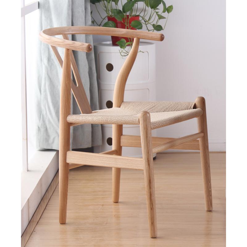 PLATINUM Replica Hans Wegner Wishbone Chair Natural