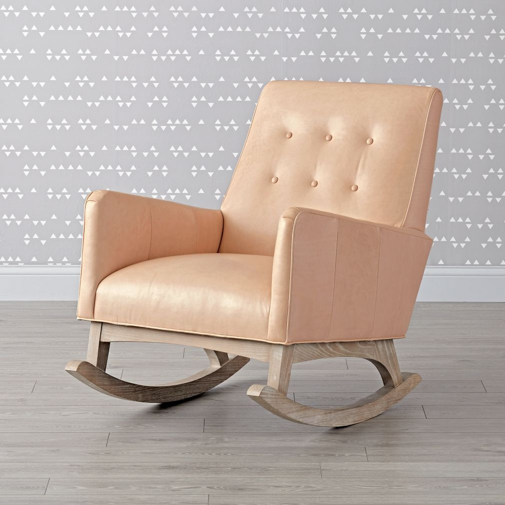 Upholstered rocking chairs everly leather tufted rocking chair  rocking chairs upholstered