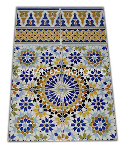 Moroccan Tile Online Moroccan Tile Supplier Mosaic Patterns Ceramic Floor Tiles Moroccan Tile