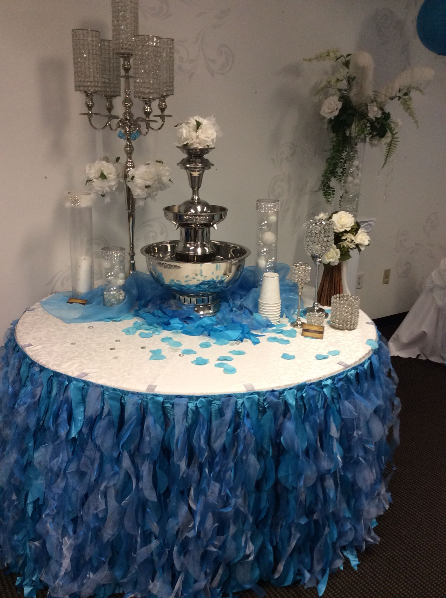 Beautiful 3 Tier Punch Fountain Contact Www Asplayzone Com Today 937 885 5454 Wedding Rentals Party Rentals Bounce House Rentals