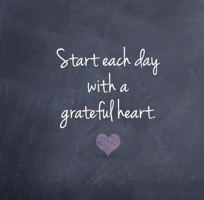 Grateful Heart   Quote For My Red Trays