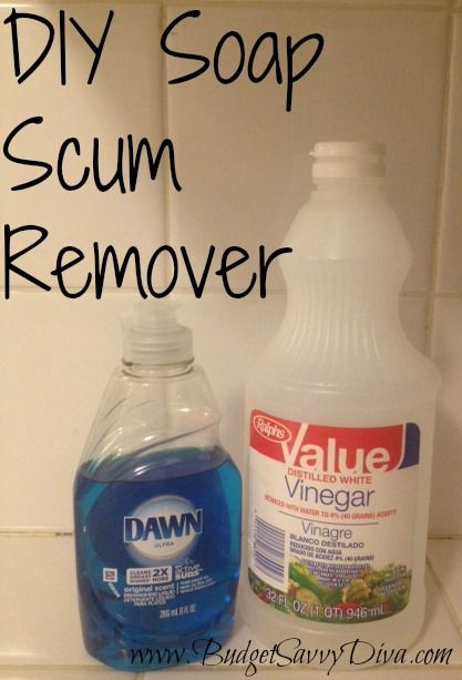 How To Remove Soap Scum Budget Savvy Diva Cleaning