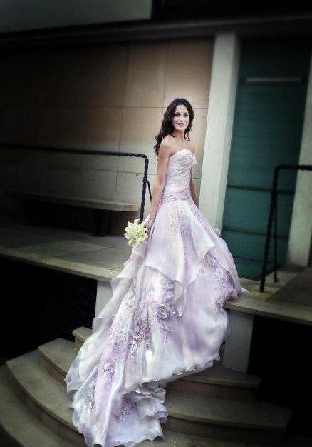 Violet Purple Wedding Dress If I Where To Wear A Purple Dress It
