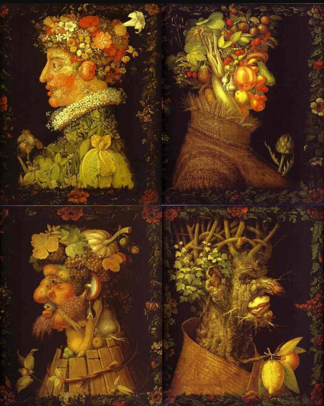 Arcimboldo Les 4 Saisons Maternelle : arcimboldo, saisons, maternelle, Arcimboldo, Quatre, Saisons, (louvre,, Paris), Historique,, Comment, Peindre,, Histoire, L'art