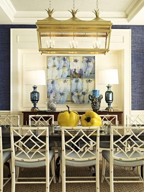The Chinoiserie Dining Room (Chinoiserie Chic) | Oriental ...