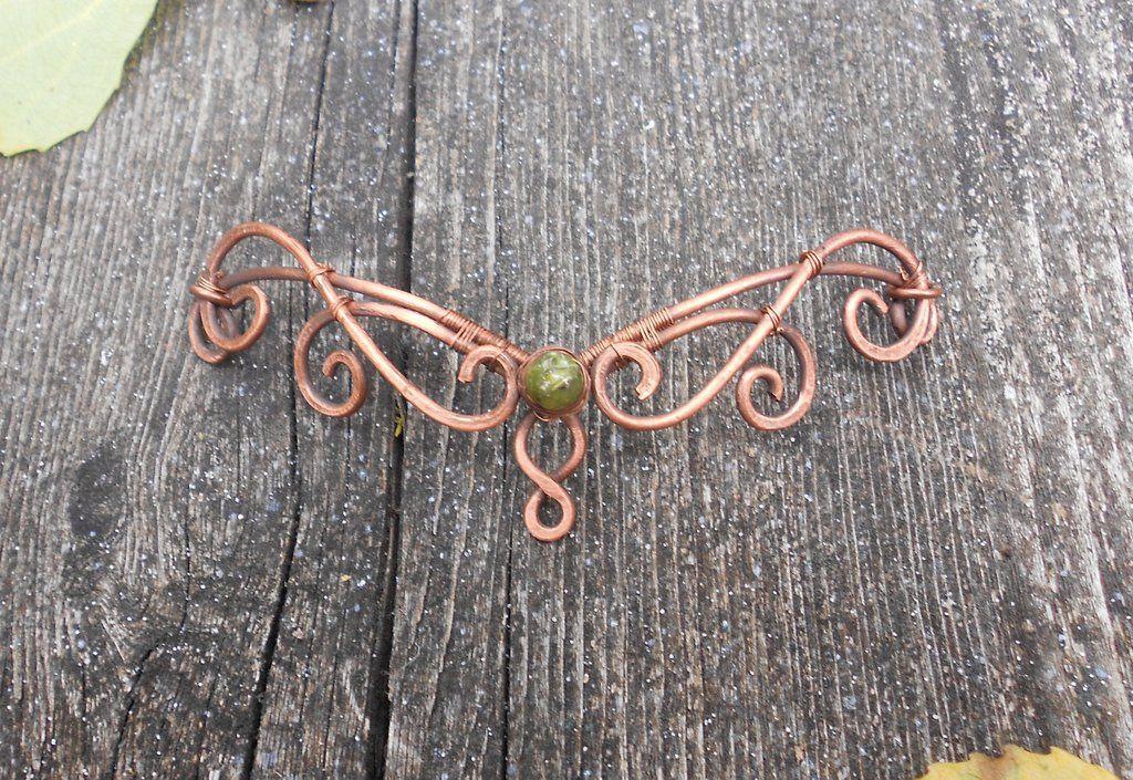 Butterfly Queen Elven Headdress by ChristineHutch.deviantart.com on @deviantART